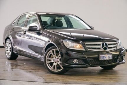 2011 Mercedes-Benz C250 W204 MY11 BlueEFFICIENCY 7G-Tronic + Avantgarde Black 7 Speed Myaree Melville Area Preview