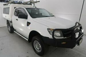 2012 Ford Ranger PX XL White 6 Speed Manual Utility Hamilton North Newcastle Area Preview