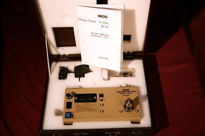 Hios Digital Torque Tester H-100 Calibrate Drivers