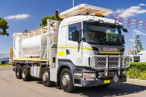 2010 Scania R420 White Tanker Welshpool Canning Area Preview