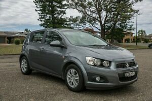 2014 Holden Barina TM MY15 CD Trio Grey 6 Speed Automatic Hatchback Port Macquarie Port Macquarie City Preview