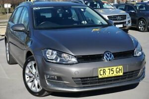 2015 Volkswagen Golf VII MY15 103TSI DSG Highline Grey 7 Speed Sports Automatic Dual Clutch Wagon Pearce Woden Valley Preview