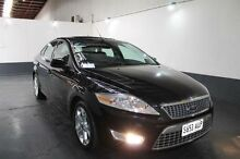 2008 Ford Mondeo MA TDCi Black 6 Speed Automatic Sedan Pennington Charles Sturt Area Preview