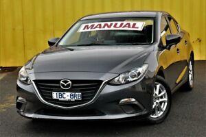 2014 Mazda 3 BM5276 Maxx SKYACTIV-MT Grey 6 Speed Manual Sedan Cheltenham Kingston Area Preview