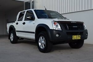 2012 Isuzu D-MAX MY11 LS-M White 5 Speed Manual Utility Rutherford Maitland Area Preview