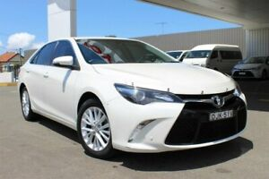2015 Toyota Camry ASV50R MY15 Atara SL Crystal Pearl 6 Speed Automatic Sedan Belmore Canterbury Area Preview