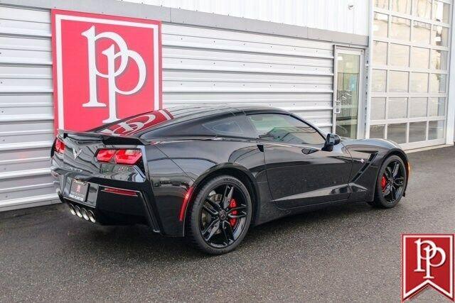2016 Black Chevrolet Corvette  2LT   C7 Corvette Photo 5