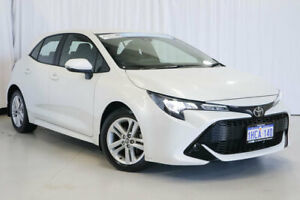 2018 Toyota Corolla ZRE182R Ascent Sport S-CVT White 7 Speed Constant Variable Hatchback Wangara Wanneroo Area Preview