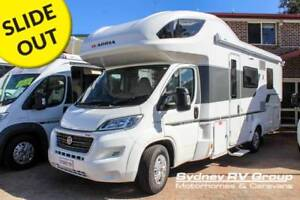 AM043 Adria Coral 660 SCS Slim Fit Profile 5 Berth With Slideout Penrith Penrith Area Preview