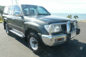 1999 Toyota Landcruiser HZJ105R GXL Grey 5 Speed Manual Wagon South Gladstone Gladstone City Preview