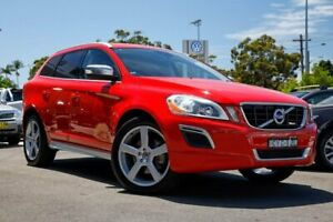 2010 Volvo XC60 DZ MY11 D5 Geartronic AWD R-Design Red 6 Speed Sports Automatic Wagon
