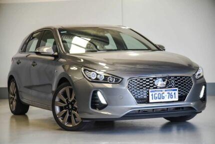 2018 Hyundai i30 PD2 MY18 SR D-CT Premium Grey 7 Speed Sports Automatic Dual Clutch Hatchback Wangara Wanneroo Area Preview