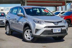 2016 Toyota RAV4 ZSA42R MY16 GX (2WD) Silver Pearl Continuous Variable Wagon