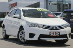 2016 Toyota Corolla ZRE172R Ascent S-CVT White 7 Speed Constant Variable Sedan Woolloongabba Brisbane South West Preview