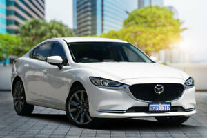 2018 Mazda 6 GL1032 GT SKYACTIV-Drive Snowflake White 6 Speed Sports Automatic Sedan Bayswater Bayswater Area Preview