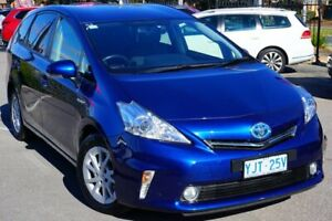 2013 Toyota Prius v ZVW40R Blue 1 Speed Constant Variable Wagon Phillip Woden Valley Preview