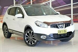 2013 Nissan Dualis J10W Series 4 MY13 Ti-L Hatch X-tronic 2WD White 6 Speed Constant Variable Blacktown Blacktown Area Preview