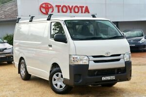 2015 Toyota HiAce TRH201R MY15 LWB French Vanilla 5 Speed Manual Van Wyong Wyong Area Preview