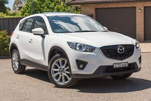 2014 Mazda CX-5 KE1031 MY14 Grand Touring SKYACTIV-Drive AWD White 6 Speed Sports Automatic Wagon Greenacre Bankstown Area Preview