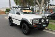 1997 Toyota Landcruiser GXL (4x4) White 4 Speed Automatic 4x4 Wagon Klemzig Port Adelaide Area Preview