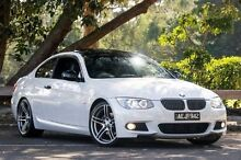 2013 BMW 320D E92 High-Line White 6 Speed Sports Automatic Coupe Ringwood East Maroondah Area Preview