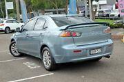 2010 Mitsubishi Lancer CJ MY11 SX Blue 6 Speed Constant Variable Sedan Gosford Gosford Area Preview