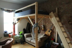 Mezzanine, lit superpose, bunk bed, simple, double, queen, king