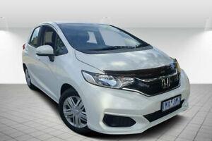 2018 Honda Jazz GK MY18 VTi White Orchid Continuous Variable Hatchback Golden Square Bendigo City Preview