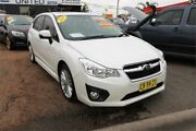 2013 Subaru Impreza G4 MY14 2.0i-S Lineartronic AWD White 6 Speed Constant Variable Hatchback Minchinbury Blacktown Area Preview