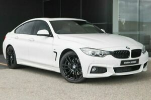 2015 BMW 428i F36 M Sport Gran Coupe Alpine White 8 Speed Sports Automatic Hatchback Wangara Wanneroo Area Preview