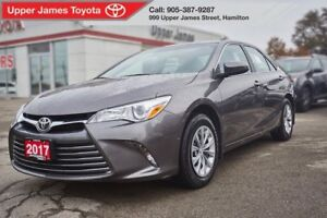 2017 Toyota Camry LE - 160-pt Toyota Certified Inspection