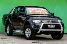 2010 Mitsubishi Triton MN MY11 GL-R Double Cab Activ Grey 5 Speed Manual Utility Ringwood East Maroondah Area Preview
