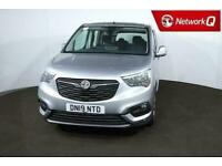 2019 Vauxhall COMBO LIFE 1.5 Turbo D Energy Xl 5Dr [7 Seat] Estate Diesel Manual