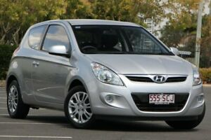 2010 Hyundai i20 PB Active Silver 5 Speed Manual Hatchback Chermside Brisbane North East Preview