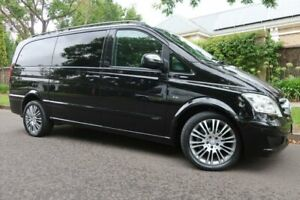 2012 Mercedes-Benz Viano 639 MY12 BlueEFFICIENCY Black 5 Speed Automatic Wagon Prospect Prospect Area Preview
