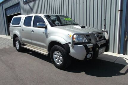 2008 Toyota Hilux KUN26R 07 Upgrade SR5 (4x4) Silver 5 Speed Manual Dual Cab Pick-up Hackham Morphett Vale Area Preview