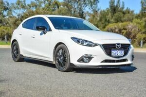 2014 Mazda 3 BM5438 SP25 SKYACTIV-Drive GT White 6 Speed Sports Automatic Hatchback Cannington Canning Area Preview