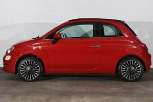 2016 Fiat 500C Series 4 Lounge Dualogic Red 5 Speed Sports Automatic Single Clutch Convertible Alexandria Inner Sydney Preview