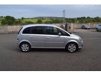 09 vauxhall meriva 1.3 cdti active t diesel silver v clean full s/h Lins&tx