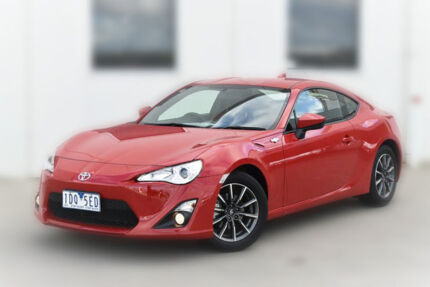 2014 Toyota 86 ZN6 GT Mount Fuji Red 6 Speed Auto Seq Sportshift Coupe Berwick Casey Area Preview