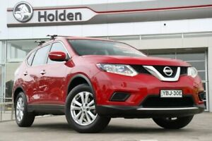 2014 Nissan X-Trail T32 ST X-tronic 2WD Burning Red 7 Speed Wagon