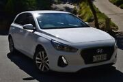 2017 Hyundai i30 PD MY18 Active White 6 Speed Sports Automatic Hatchback St Marys Mitcham Area Preview