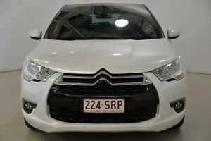 2012 Citroen DS4 F7 MY13 Dstyle White 6 Speed Automatic Hatchback