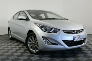 2014 Hyundai Elantra MD3 SE Silver 6 Speed Sports Automatic Sedan Wayville Unley Area Preview