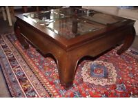 Beatitful Singapore Antique Rosewood Coffee Table
