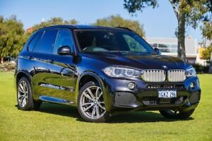 2017 BMW X5 F15 xDrive30d Black 8 Speed Sports Automatic Wagon Burswood Victoria Park Area Preview