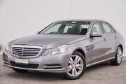 2012 Mercedes-Benz E200 W212 MY12 BlueEFFICIENCY 7G-Tronic + Elegance Silver 7 Speed Bellevue Swan Area Preview