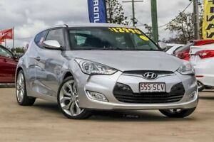 2011 Hyundai Veloster FS Coupe D-CT Silver 6 Speed Sports Automatic Dual Clutch Hatchback Gympie Gympie Area Preview