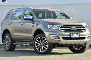 2018 Ford Everest UA II 2019.00MY Titanium 4WD Silver 10 Speed Sports Automatic Wagon Dandenong Greater Dandenong Preview