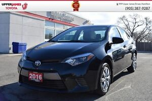 2016 Toyota Corolla LE - 160-pt Toyota Certified